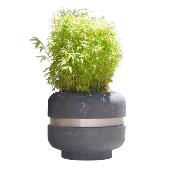 Jardinera de hormigon circular fudur equipamiento - Jardinera hormigon ...